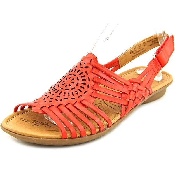 Naturalizer Wendy Open-Toe Leather Slingback Sandal