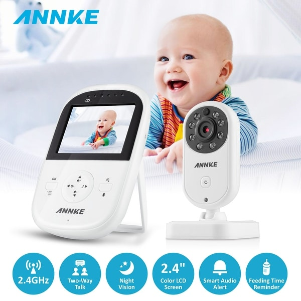 ANNKE 2.4GHz Wireless Video Baby Monitor with Camera