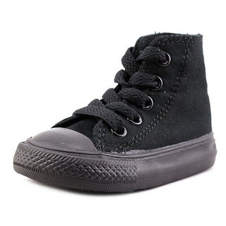 Converse Chuck Taylor All Star Specialty Hi Infant Canvas Black Sneakers