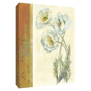 """PTM Images 9-154179  PTM Canvas Collection 10"""" x 8"""" - """"PoppyTrio"""" Giclee Poppies Art Print on Canvas"""