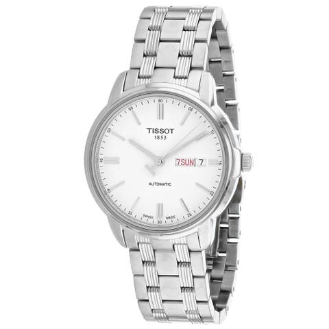 Tissot Men's T-Classic White Dial Watch - T0654301103100 - One Size