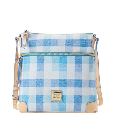 Dooney & Bourke Quadretto Check Crossbody Shoulder Bag (Introduced by Dooney & Bourke in )