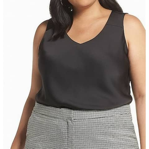 Halogen V-Neck Women's Plus Sleeveless Tank Cami Top