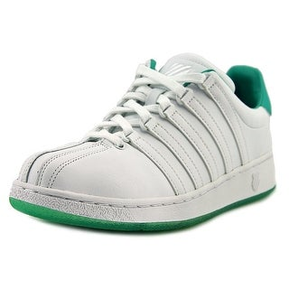 K-Swiss Classic VN Women  Round Toe Leather Green Sneakers