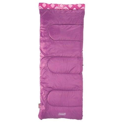 Coleman Rectangular Youth Girls Sleeping Bag Sleeping Bag