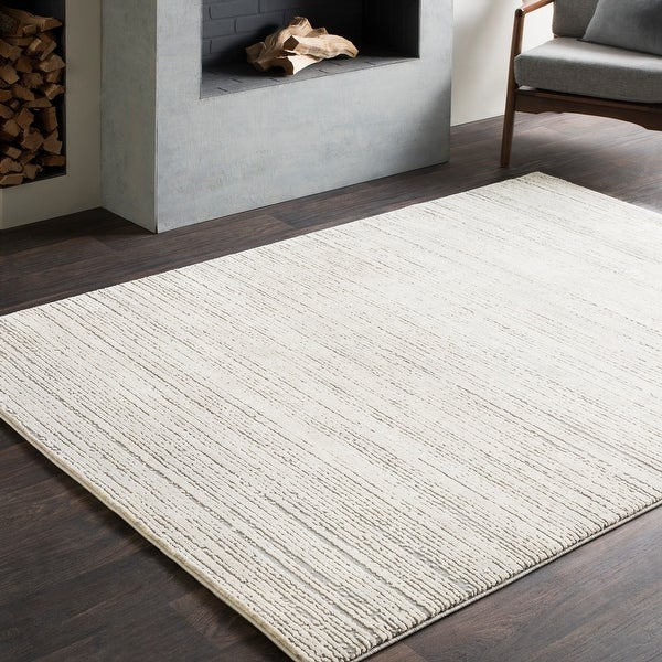 Tranquil Modern Grey & Taupe Area Rug. Opens flyout.
