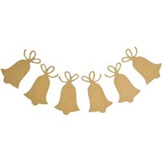 """3.5""""X6"""" - Beyond The Page Mdf Bell Pennant 6/Pkg"""