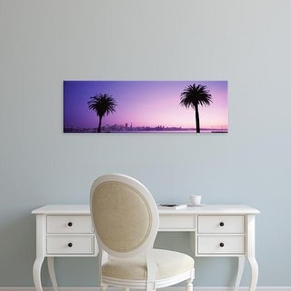 Easy Art Prints Panoramic Images's 'San Francisco, California, USA' Premium Canvas Art