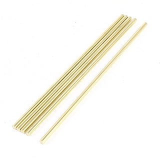 Unique Bargains 5 Pieces Toy Car Helicopter Model DIY Brass Axles Shaft Rod Bars 3x120mm