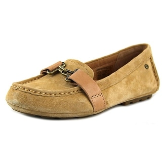 UGG Collection Aven Round Toe Suede Loafer
