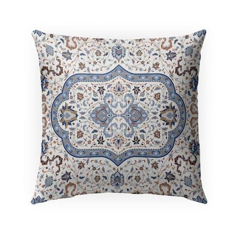 EMPIRE WHITE Indoor-Outdoor Pillow By Marina Gutierrez