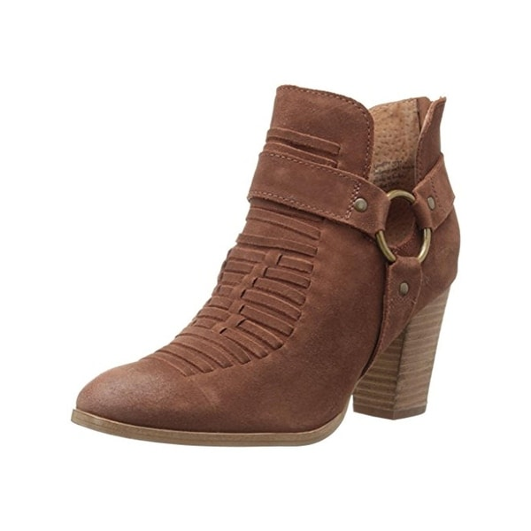 Seychelles Womens Booties Suede Ankle