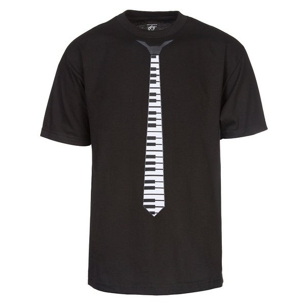 Exquisite Piano Tie Graphic Tee