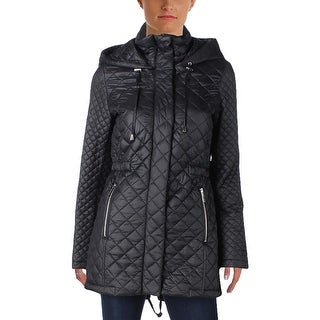 French Connection Womens Puffer Coat Outerwear Quilted - S