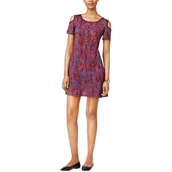 Shop Eci New York Womens Casual Dress Jersey Printed
