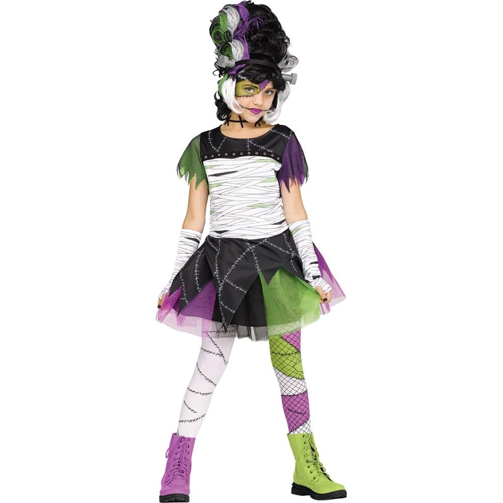 Child/'s Bride of Frankenstein Classic Halloween Sized Girls Halloween Costume