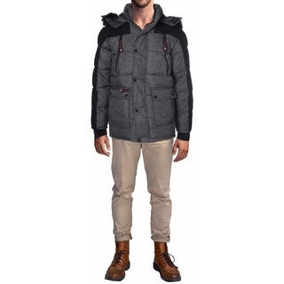 Canada Weather Gear Mens Parka Coat Temperature Rated Water Resistant
