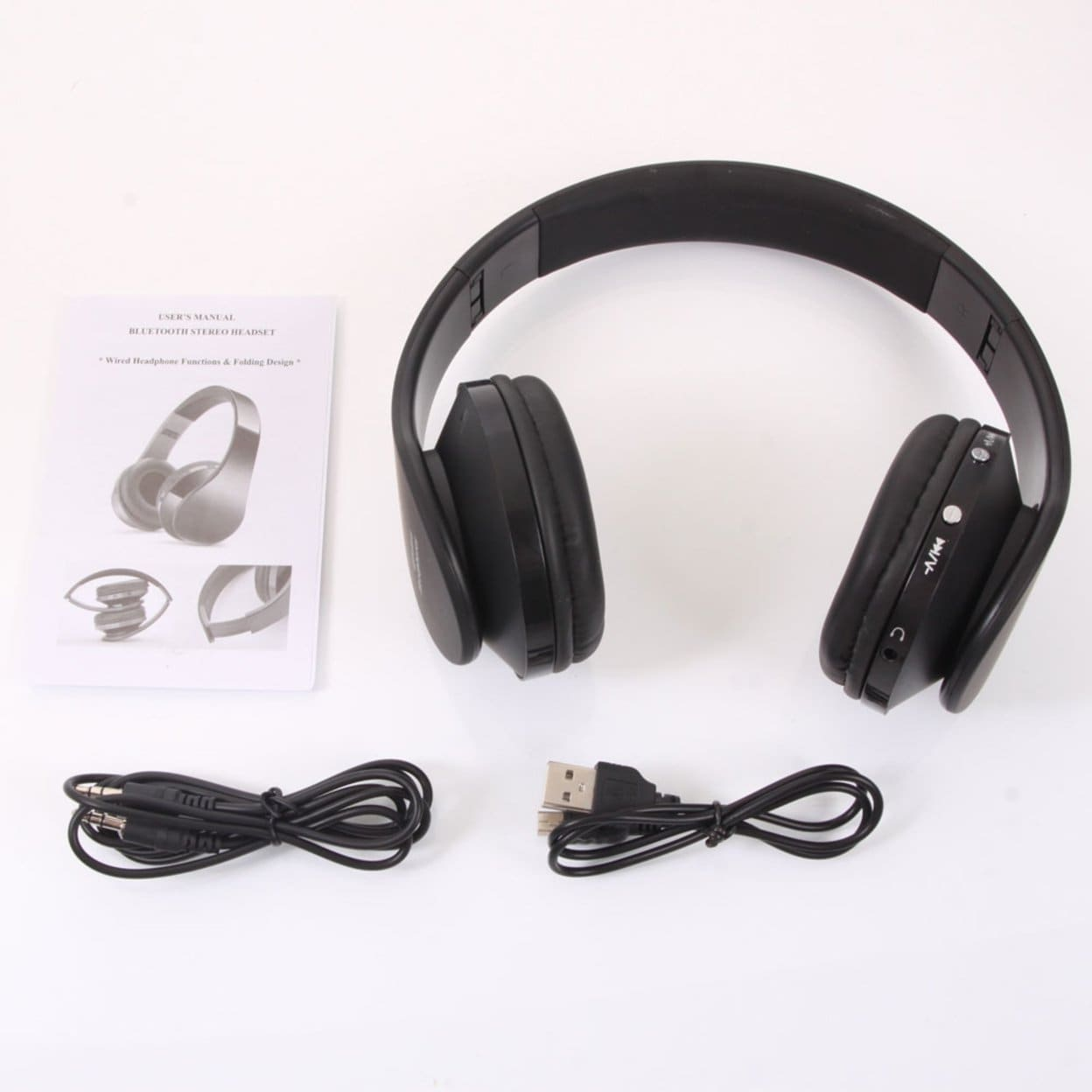 Shop Nx 8252 Hot Foldable Wireless Stereo Sports Bluetooth Headphone Headset With Mic For Iphone Ipad Pc Free Shipping On Orders Over 45 Overstock 27483116