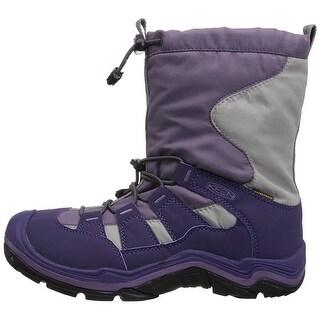 Keen Girls winterport II Fabric Knee High Pull On Snow Boots - 10 m us little kid