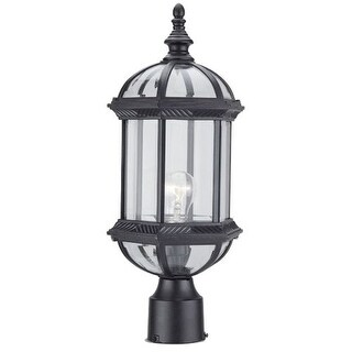 "DVI Lighting OCA140804 1 Light 18"" Post Top from the Hexagon Collection"