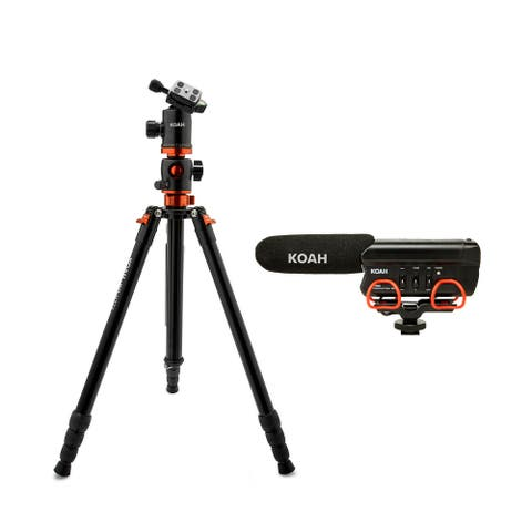 Koah PRO Aphelion Tripod with Ball Head (6') and Video Microphone