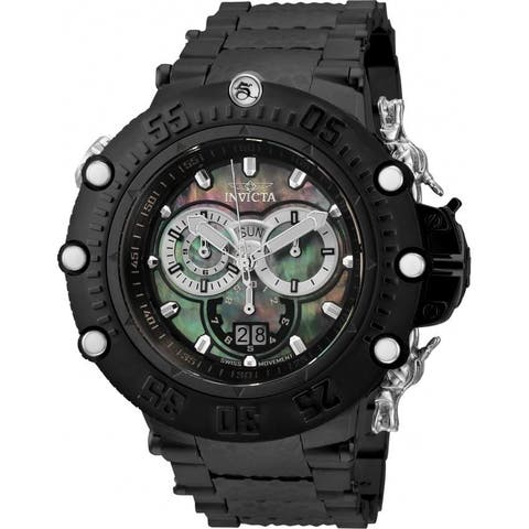 Invicta Men's 32952 'Subaqua' Black Stainless Steel Watch
