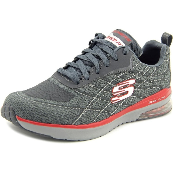 fd625cee4a12b Skechers Skech Air Infinity-Belden Men Round Toe Canvas Sneakers