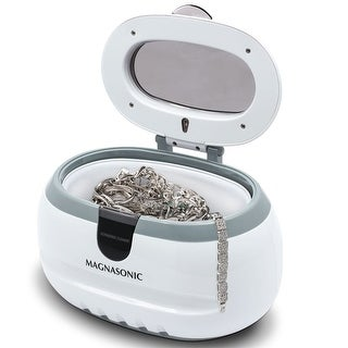 Magnasonic Professional Ultrasonic Jewelry Cleaner Machine for Eyeglasses, Watches, Rings, Coins, Dentures
