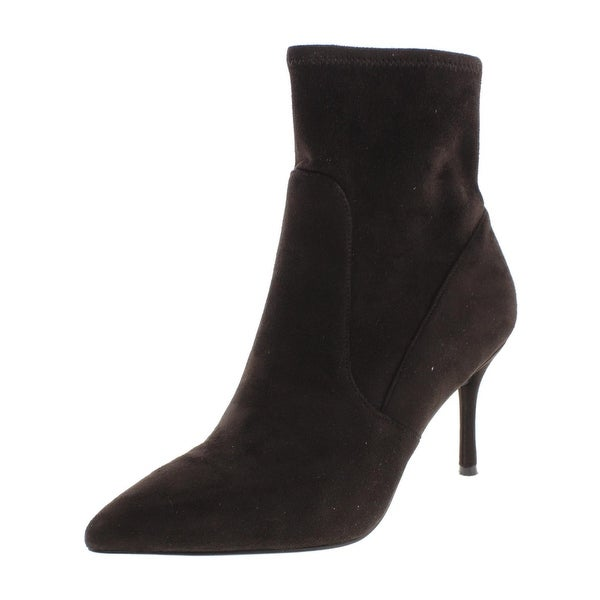 Nine West Womens Cadence Ankle Boots Solid Pointed Toe