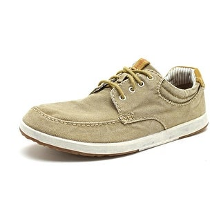 Clarks Norwin Vibe Round Toe Canvas Sneakers