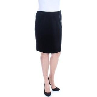 Womens Black Evening Skirt Size 12