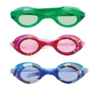 Aqua Leisure AQG1344 Assorted Goggles, Polycarbonate