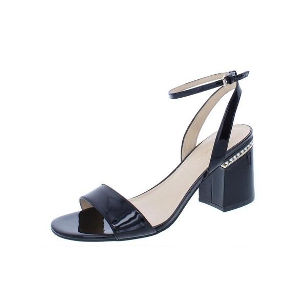 4e7c8d77f18 Shop Ivanka Trump Womens Anina Dress Sandals Patent Leather Block ...