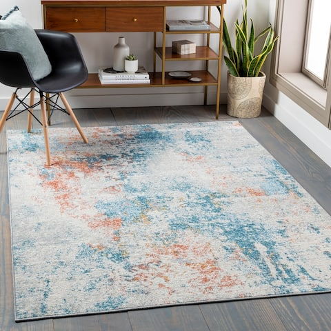Nyah Casual Abstract Area Rug