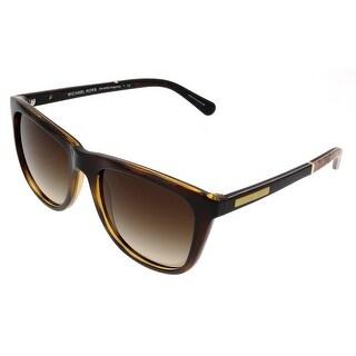 Michael Kors M6009 ALGARVE 301013 Dark Tortoise Rectangle Sunglasses - 54-18-135