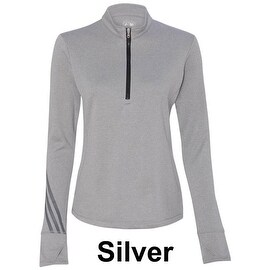 adidas - Golf Women's Brushed Terry Heather Quarter-Zip Jacket