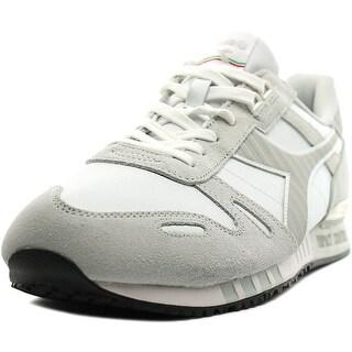 Diadora Titan Round Toe Suede Sneakers