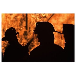 """""""Firefighters"""" Poster Print"""