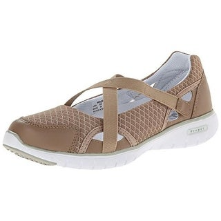 Propet Womens Travellite Mary Jane Mesh Athleisure Walking Shoes