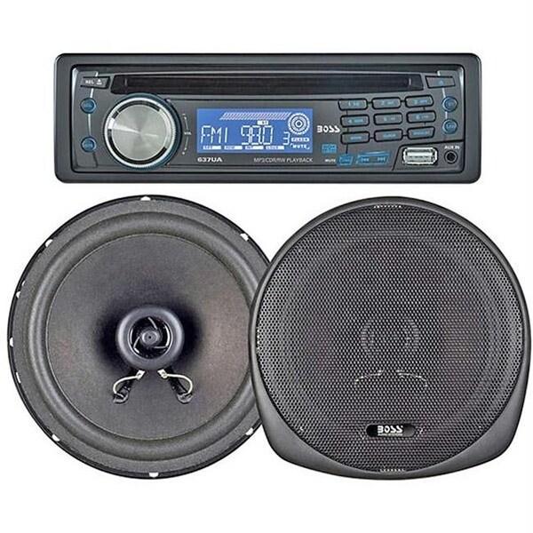 Boss 240-Watt Cd-Mp3 Receiver-Speaker Package System