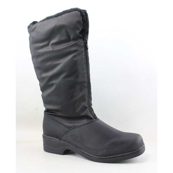 Tundra Womens Alice Black Snow Boots Size 9