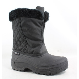 Tundra Womens Portland Black Snow Boots Size 5