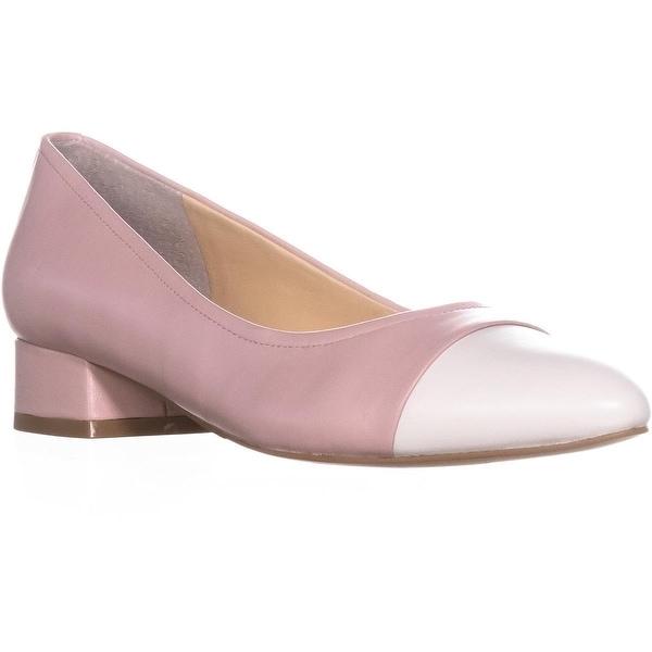 Ivanka Trump Larrie Pointed Toe Kitten Heels, Pink Multi