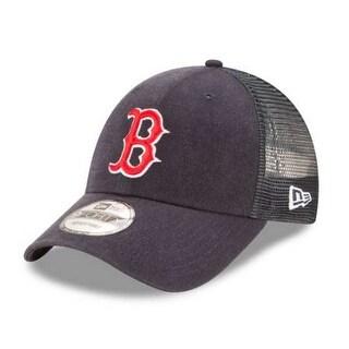 New Era MLB Boston Red Sox Trucker 9Forty Adjustable Baseball Hat 940 11591212