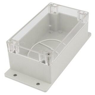 Unique Bargains 158mmx90mmx65mm Plastic Clear Cover Waterproof Enclosure Case DIY Junction Box