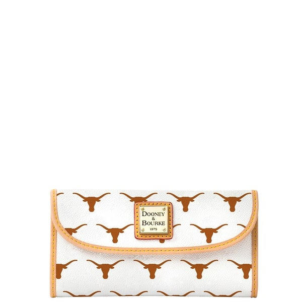 Dooney & Bourke NCAA Texas Continental Clutch (Introduced by Dooney & Bourke at $128 in Nov 2014)