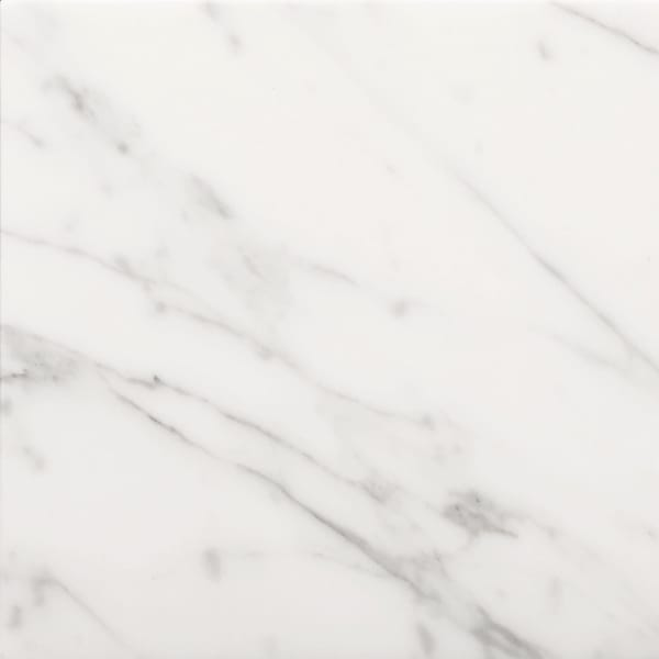 "Emser Tile M01NANT1212 Marble Nantes - 12"" x 12"" Square Floor and Wall Tile - Polished Marble Visual - Bianco Gioia"