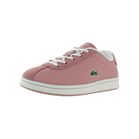 Lacoste Girls Masters 119 1 Casual Shoes Little Kid Leather - 13 Medium (B,M) Little Kid