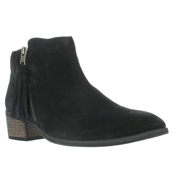 MIA Emerson Tassel Ankle Boots, Black - 10 us