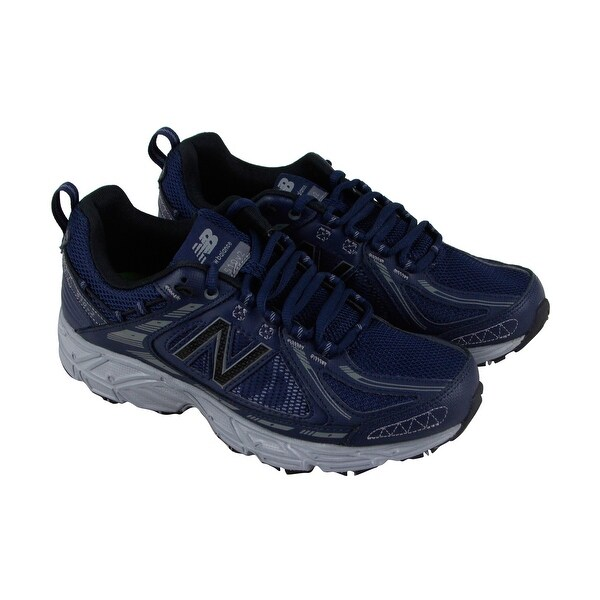 New Balance Trail Course Mens Blue Mesh Athletic Lace Up Running Shoes